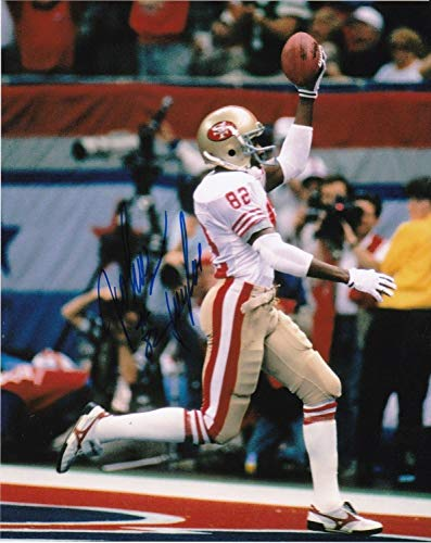 John Taylor San Francisco 49ers Autographed Signed 8x10 Photo - Certified Authentic