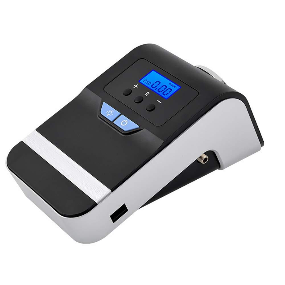 AWAKMER 12V DC Mejor Compresor de Aire Inflador de neumáticos con Calibre 150 PSI Bomba portatil para neumáticos de Coches, Camiones e inflables.
