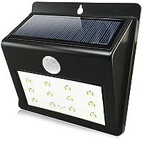 QPAU Solar Light 12 LED Wireless Waterproof Solar Motion Sensor Light