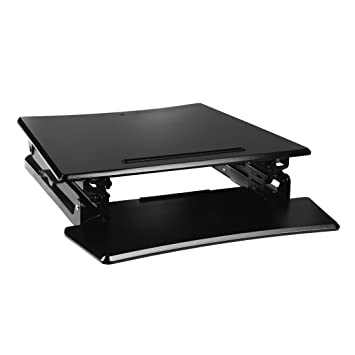 Beau Hama Manual Height Adjustable Standing Desk Attachment For Sitting Or  Standing, Tablet/Smartphone Holder