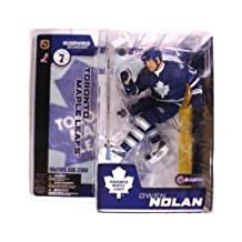 McFarlane Toys NHL Sports Picks Series 7 Action Figure: Owen Nolan (Toronto Maple Leafs) Blue Jersey VARIANT