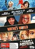 Blades of Glory / Wayne's World / Team America World Police DVD