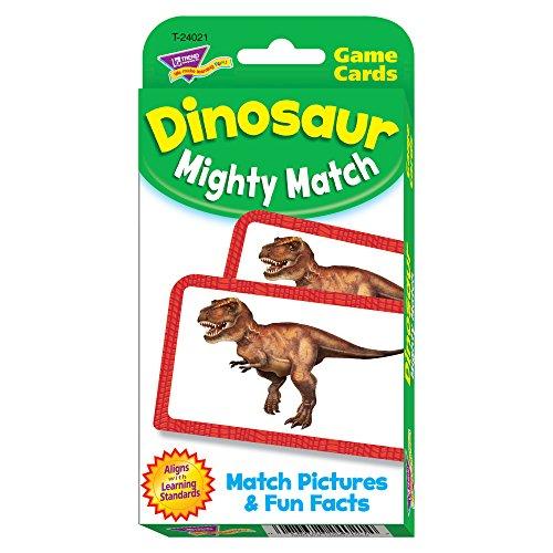 TREND enterprises, Inc. Dinosaur Mighty Match Challenge Cards