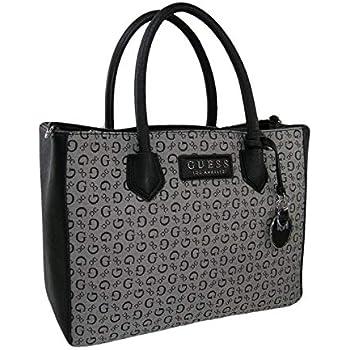 55491b0657 Amazon.com  New Guess G Logo Purse Satchel Hand Bag Crossbody Black ...