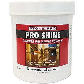 Amazon Com Stone Pro Granite Polishing Powder Pro Shine 1