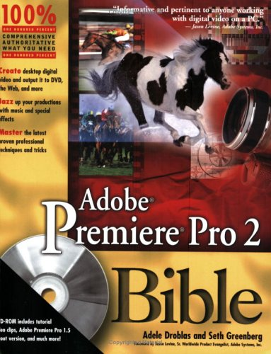 Adobe Premiere Pro 2 Bible (Paperback)-cover
