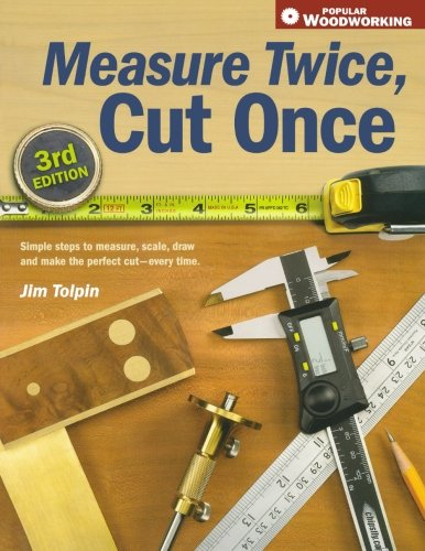 Measure Twice, Cut Once: Simple Steps to Measure, Scale, Draw and Make the Perfect Cut-Every Time. (Popular (Collection Red Painted Wood)