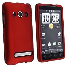 Fosmon Rubberized Case for HTC EVO 4G - Red