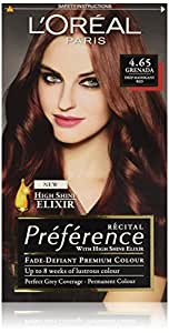 L'oreal paris - Preference hair colourant, tinte para el pelo, grenada 4.65