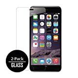 iPhone 7 Plus Tempered Glass Screen Protector Cover, Clear [2-Pack]