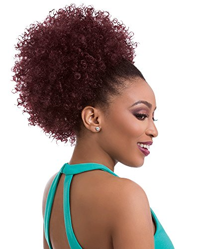 Sensationnel Synthetic Hair DrawString Ponytail Instant Pony Natural Afro 10