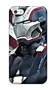 Durable Case For The Iphone 5/5s- Eco-friendly Retail Packaging(iron Patriot In Iron Man 3)