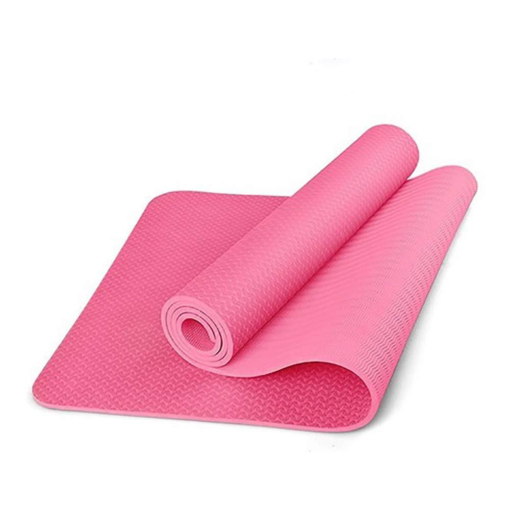 JLCP Yoga-Matten, Feuchtigkeitsdichte Warme Yoga-Matte, Indoor-Aktivitäten Für Männer und Frauen Outdoor-Sportmatten Mit Taschen,C