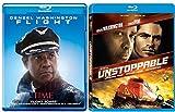 Unstoppable + Flight Blu Ray 2 Pack Denzel Washington Action Movie Set
