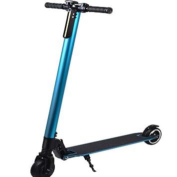 MYYDD Scooter eléctrico de Fibra de Carbono: Ligero ...