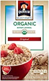 Quaker Organic Instant Oatmeal Original Breakfast Cereal, 8 Packets Per Box (Pack of 6 Boxes) Review