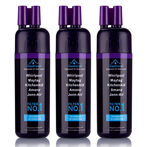 Aqua Crystal Water Filter 1, Aqua Crystal Compatible 9081, Refrigerator Replacement Water Filter 1(Purple, Packs of 3) by by Aqua Crystal (Image #5)