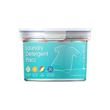BABYPEACH 3en1 Detergente en Cápsulas para Lavadora, Protección ...