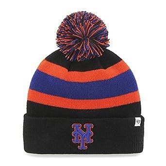 premium selection bb912 c9cd6 ... hot 47 unisex mlb new york mets breakaway beanie hat black one size.  fc89f fd5f6