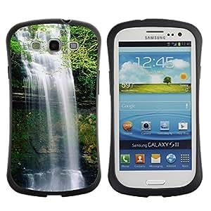 Suave TPU GEL Carcasa Funda Silicona Blando Estuche Caso de protección (para) Samsung Galaxy S3 I9300 / CECELL Phone case / / Waterfall /
