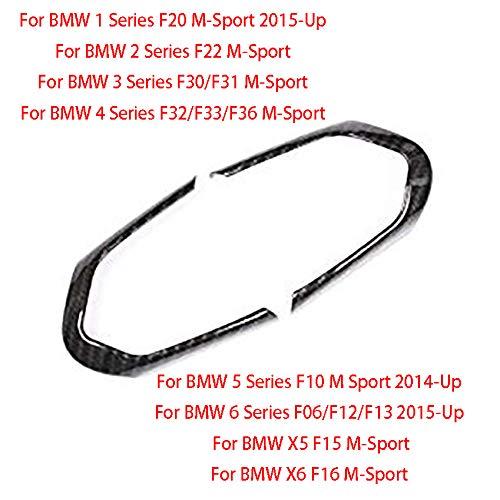 Volant Bouton Cadre Garniture pour 1//2//3//4//5//6/Series F20/F22/F30/F31/F32/F33/F36/F10/F12/F06/M-sport F13/X5/F15/X6/F16