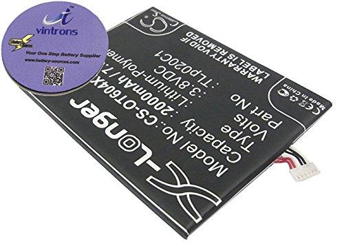 vintrons (TM) Bundle - Replacement Battery For ALCATEL OT-6040A, OT-6040D, OT-6040E, + vintrons Coaster