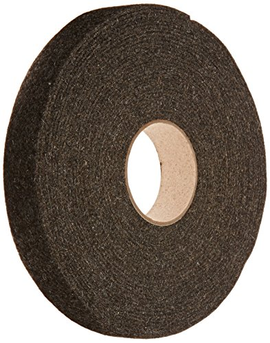 Grade F26 Pressed Wool Felt Strip, Gray, SAE J314, 1/8