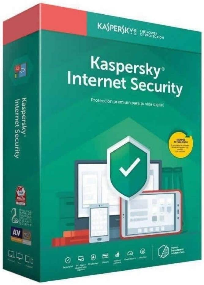 Kaspersky Software ANTIVIRUS 2020 Internet Security MULTIDEVICE 4 LICENCIAS