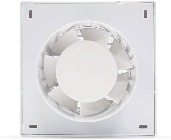 Honguan Silencieux Ventilateurs Aérateur Extracteur De Salle De Bain 100mm 95m³h
