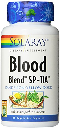 Solaray Blood Blend SP-11A Capsules, 100 Count Review