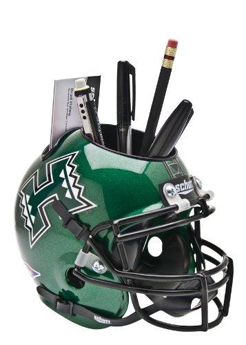 NCAA Hawaii Rainbow Warriors Helmet Desk Caddy (Hawaii Helmet Warriors)