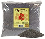 KOSHER Whole Poppy Seeds - Dried Seed of Papaver Somniferum L From Holland (5 Pounds)