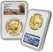 2020 1 oz Gold Buffalo NGC MS-70 (Early Releases) by CoinFolio $50 MS70 NGC