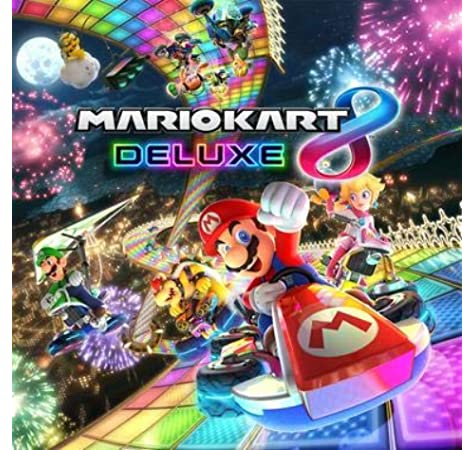 Super Mario - Poster 3D Kart 8 Deluxe: Amazon.es: Videojuegos