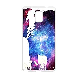 Abstract elephant and skull Cell Phone Case for Samsung Galaxy Note4