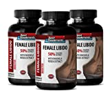 Premium Herbal Blend for Females Health - Female Libido Booster With Rhodiola Rosea Extract (3 Bottles 180 Capsules)