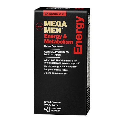 MEGA ENERGIE  GNC  HOMMES 90 CAPS