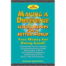 Making a Difference: Scholarships for a Better World
