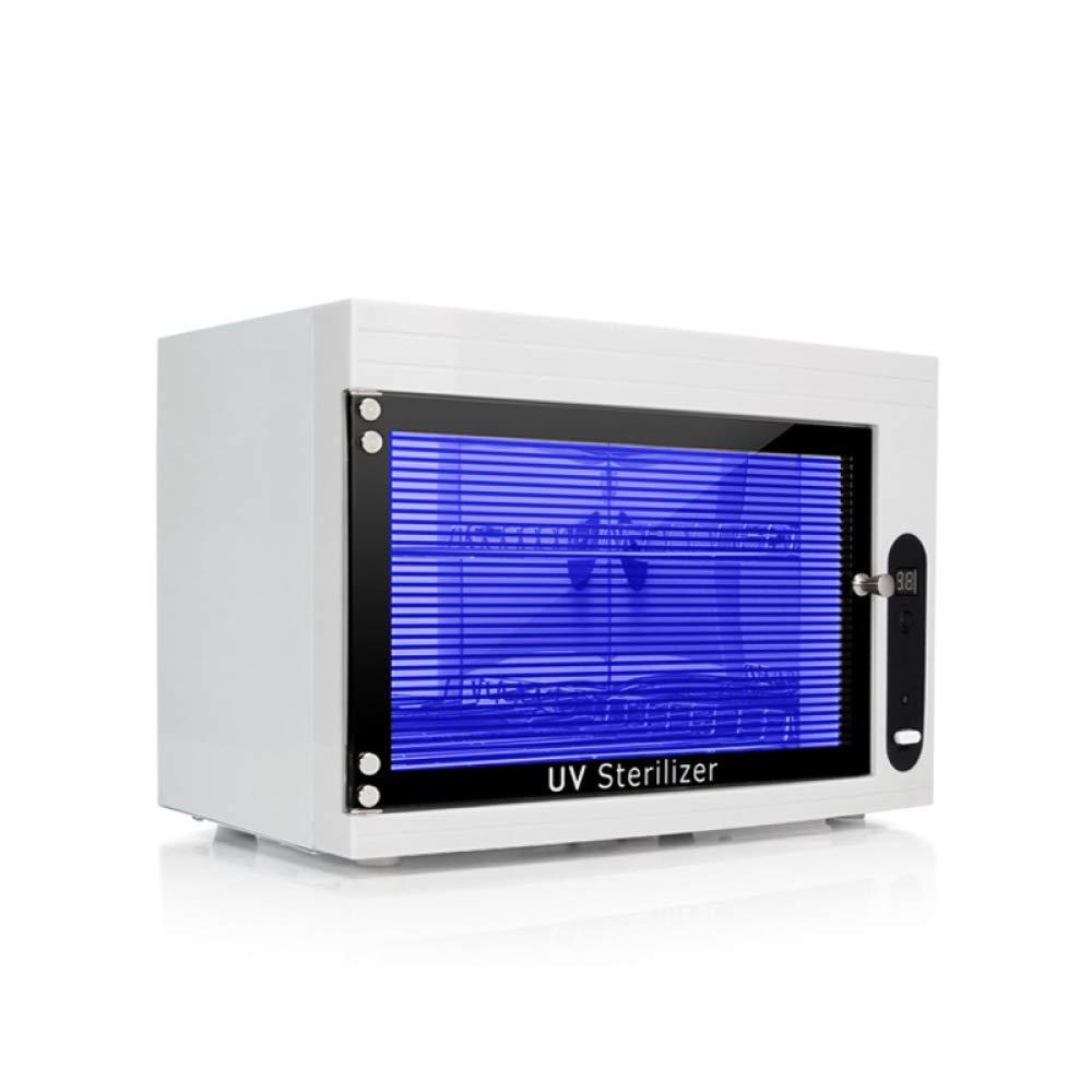 UV* St/érilisateur Chauffe Serviettes 2 en 1 Esthetique Barbier Spa S/échoirs /à Ongles Et Lampes St/érilisateurs,Pink