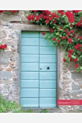 """Tuscan door and flowers: (Notebook/Journal) (118 x Lined Pages) (8"""" x 10"""") (Tuscany Villages Notebook Collection) (Volume 1) Paperback"""