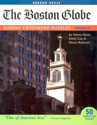 The Boston Globe Sunday Crossword Puzzles, Volume 14