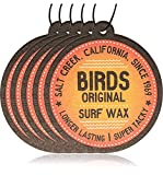 Birds Original Californian Surf Wax Coconut Fragrance Car Air Freshener (5)