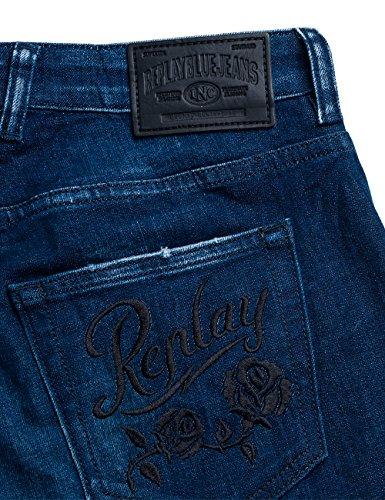 Donna 9 denim Slim Replay Blu Jeans Katewin qttf8