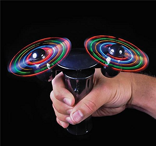 6'' LIGHT-UP DOUBLE-SPINNER FAN, Case of 24 by DollarItemDirect (Image #3)