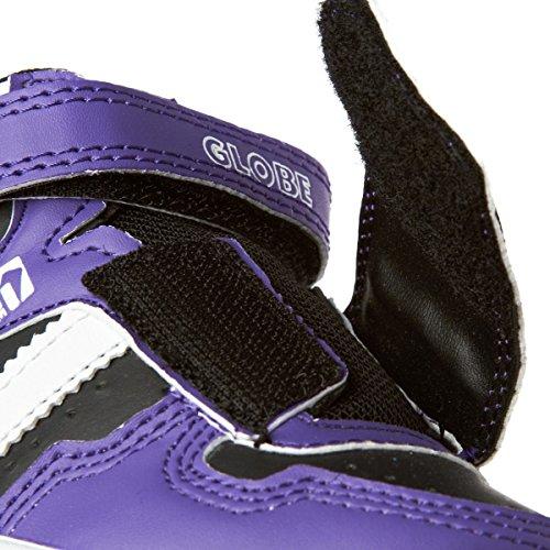 Morado Velcro Zapatillas Superfly De Sintético Europe Skateboard Globe Niño WtEwzxq8Wa