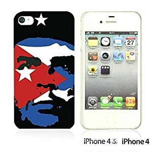 Celebrity Star Hard Back For Iphone 6 4.7 Inch Case CoverChe Guevara with Flag