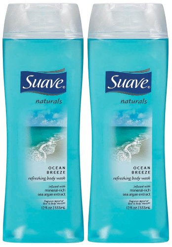 (Suave Naturals Body Wash - Ocean Breeze - 12 oz - 2 pk)