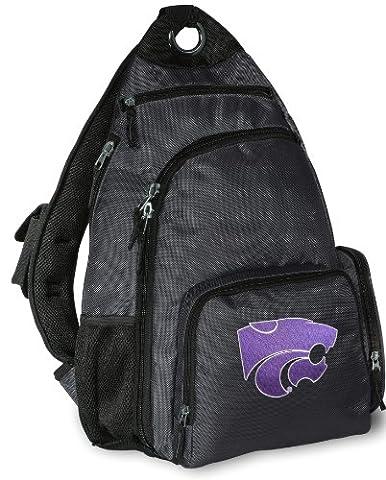 Kansas State Backpack Cross Body K-State Sling Bag - State Sling Backpack