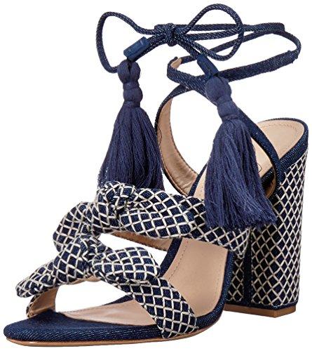 Schutz Women's Leyrieli Heeled Sandal Blue 6VmoZilUN