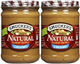 Smucker's Creamy Natural Peanut Butter - 16 oz - 2 pk